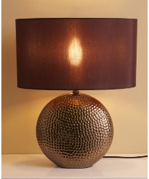 Ceramic Pebble Lamp