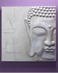 3D Peaceful Buddha Wall Art