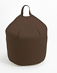 Felicity Faux Suede Bean Bag