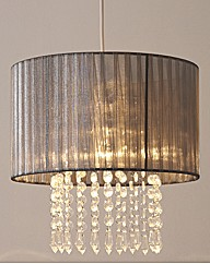 Pleated Pendant Light Decoration