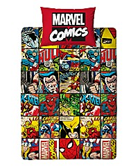 Marvel Comics Rotary Single Duvet Cover