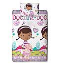 Doc McStuffin Hugs Rotary Duvet Cover