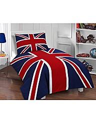Union Jack Classic Duvet Cover Set
