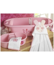 Lollipop Lane Upsy Daisy Bath Set