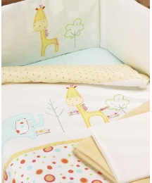 Lollipop Lane Safari Bedding Set