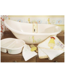 Lollipop Lane Safari Bath Set