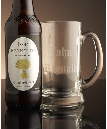 Personalised Real Ale & Tankard