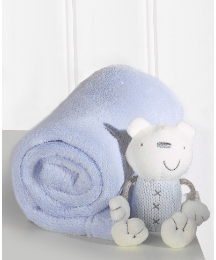 Lollipop Lane Luxury Blanket & Teddy