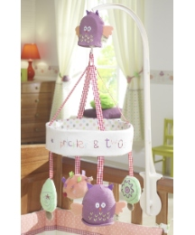 Lollipop Lane Prickles & Twoo Cot Mobile