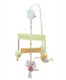 Lollipop Lane Pumpkin Cot Mobile