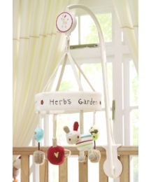 Lollipop Lane Herbs Garden Cot Mobile