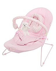 Obaby B is for Bear Bouncer - Pink
