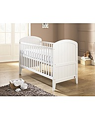 Lollipop Lane Oakhill Cotbed - White