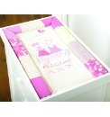 Country Kisses Changing Mat Pink