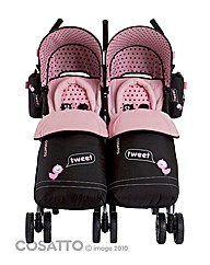 Cosatto You 2 Twin Stroller Little Tweet