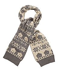 Joe Browns Fairisle Scarf