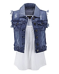 Joe Browns Denim Gilet