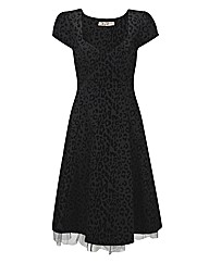 JOE BROWNS FABULOUS FLOCKED DRESS