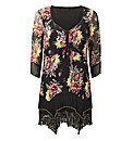 Joe Browns Flattering Floral Tunic