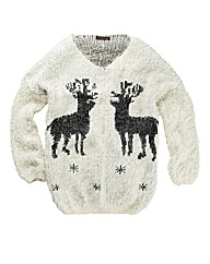 Joe Browns Funky Reindeer Knit