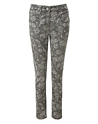 JOE BROWNS VINTAGE PRINT JEANS