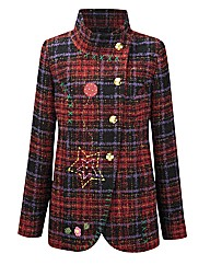 Joe Browns Fab and Funky Check Jacket