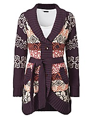 Joe Browns Funky Jacquard Cardigan