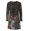 Joe Browns Funky Owl Knitted Dress