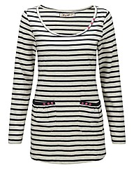 JOE BROWNS STRIPE JEANS JERSEY TEE