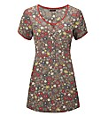 Joe Browns Flirty Floral Tunic