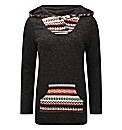 Joe Browns alpine hooded jumper