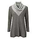 Joe Browns Cable Cowl Sweater