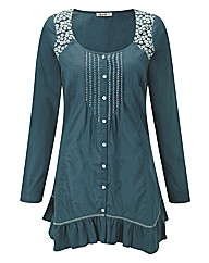 JOE BROWNS DIVINE LACE DETAIL BLOUSE
