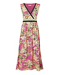 Joe Browns Tropical Palm Maxi Dress