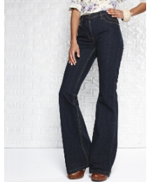 Petite Smart Flared Jeans Length 28in