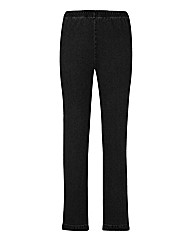 Pull On Bootcut Jeggings Length 31in