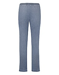 Pull On Bootcut Jeggings Length 28in