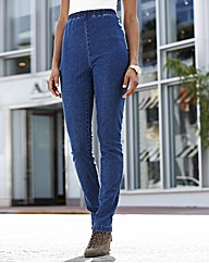 Pull On Slim Leg Jeggings Length 28in