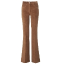 Stretch Cord Flare Trousers Length 34in