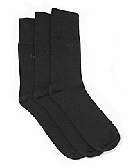 Pack of Three Gentle Grip Pringle Socks