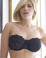 Black Worlds Largest Strapless Bra