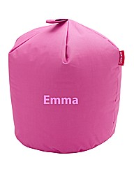 Personalised Pink Beanbag