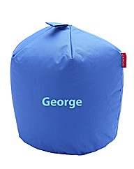 Personalised Blue Beanbag