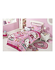 Personalised Hello Kitty Duvet Cover
