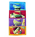 Personalised Teenage Mutant Turtle Towel