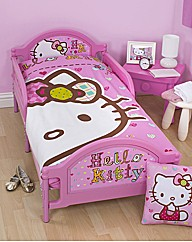 Hello Kitty Toddler Bed