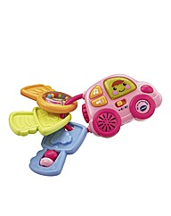 Vtech My First Car Keys Rattle - Pink