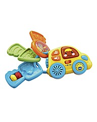 Vtech My First Car Keys Rattle - Multi