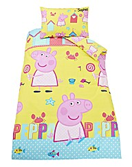 Personalised Peppa Pig Duvet Cover Set