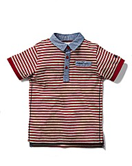 French Connection Baby Stripe Polo Shirt